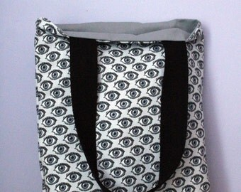 Bag Tote tote bag patterns eyes