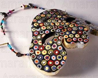 Màskes-Mask Ceramic decoration Optical