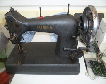 Jones Vintage Popular Sewing Machine