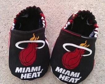 Miami Heat Baby Booties