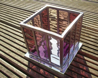Glass in lead wind light