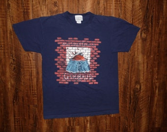 Vintage GIRBAUD Graphic T-Shirt