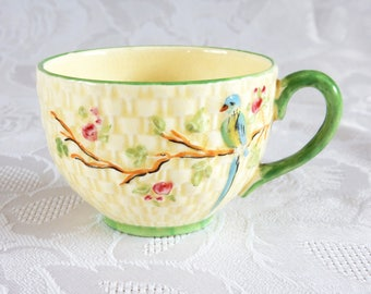 Fielding's Crown Devon Parrot Tea Cup