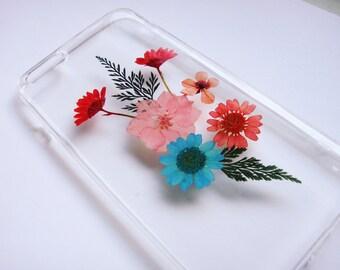 pressed flower case iphone