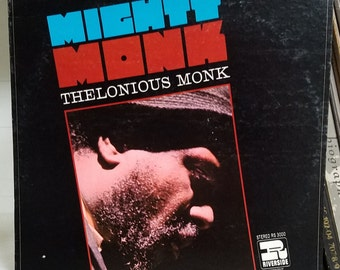 Thelonious Monk Mighty Monk Jazz Vintage Vinyl Record LP 1967 Riverside RS-3000