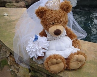 Large Bridal Teddy