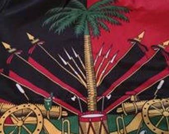 Haiti Drapeau rouge et noir de 1964 à 1986