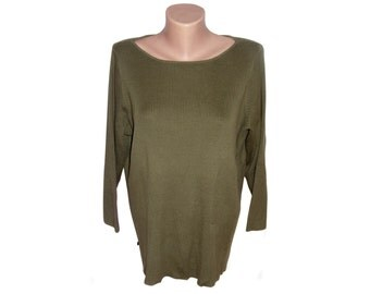 Vintage Ralph Lauren green women tops blouses