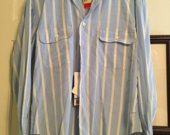 Striped Ralph Lauren Vintage Shirt Size Small 4 BNWT