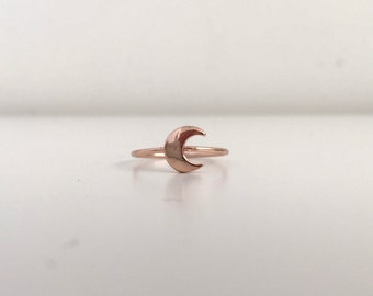 Rose Gold Crescent