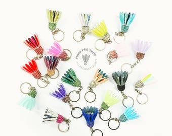 Handmade Badminton Shuttle Keychain (Small)