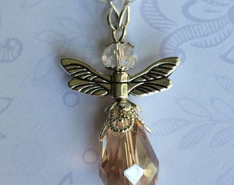 Lucky Angel car charm - Guardian angel charm - Driving test gift - Lucky angel pendant - New driver - Gift for her - Gift for him