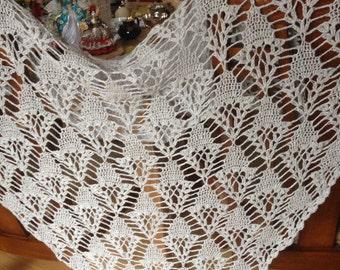 100% cashmere lace shawl