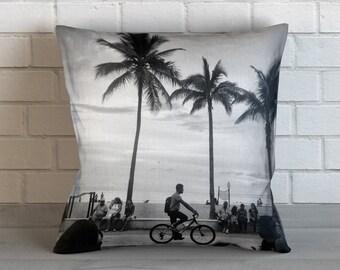 Beach Boardwalk Pillow