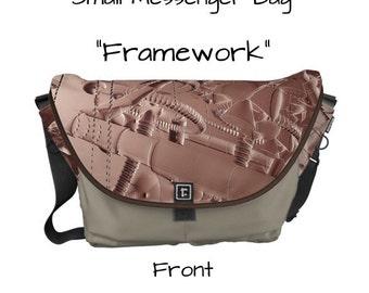 "Messenger Bag - ""Framework"" - Great gift item!"