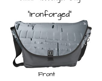 "Messenger Bag - ""Ironforged"" - Great gift item!"