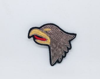 Eagle / Hand made Embroidered patch