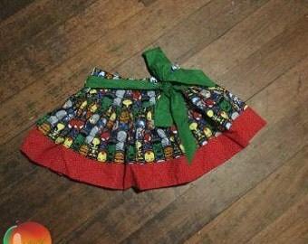 Superhero Twirly Skirt ~ Size 5