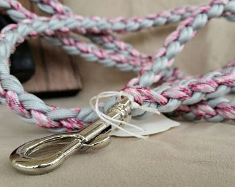 Paracord leash - dog leash - handmade, strong, durable, unique