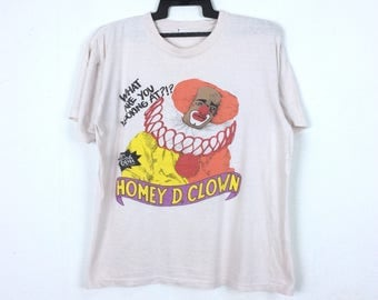 Vintage 90s Homey D. clown In Living Color A Fox Tv Series Shirt
