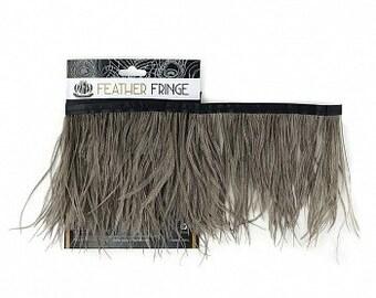 Ostrich Feather Fringe - FOO5 1 Yard