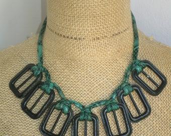 Necklace design buckle