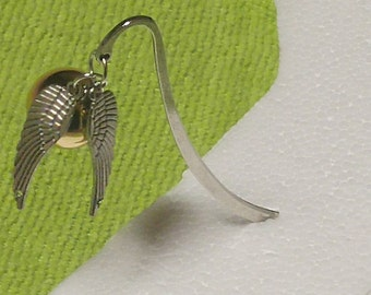 Harry Potter Snitch Bookmark