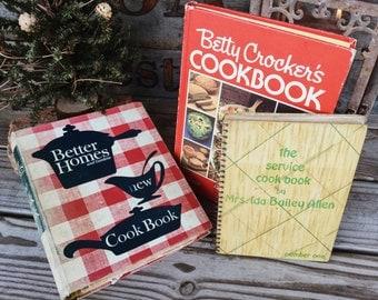 Old Books - Old Cookbooks for the Vintage Kitchen