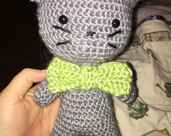 Cute Crochet Cat Stuffed Animal