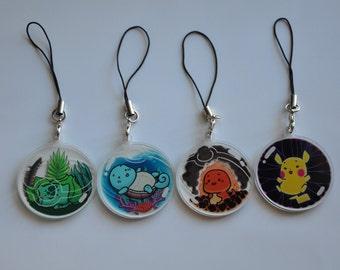 Pokemon Acrylic Charms