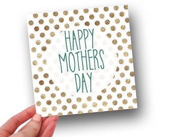 Happy Mothers Day // Mothers Day Card