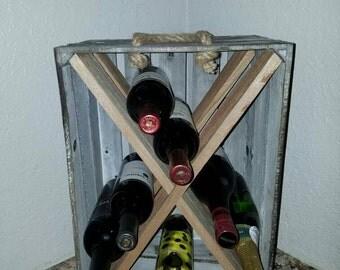 Wine Rack Crate