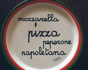 Vintage Baldelli Pizza Platter