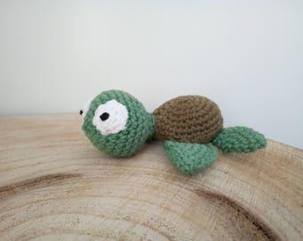 amigurumi turtle