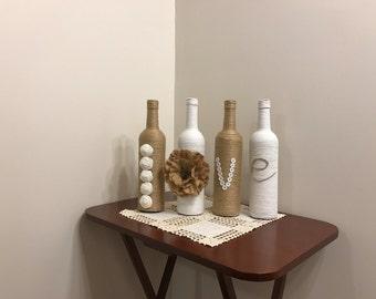 wine bottle decor | etsy