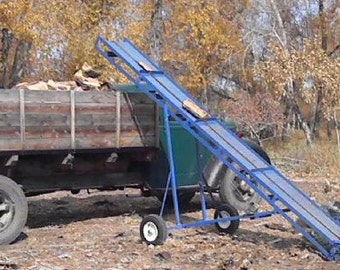 Make your own firewood, hay bale, or .... conveyor