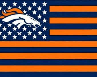 SUMMER SALE Denver Broncos Team Flag and Banner 3' x 5'
