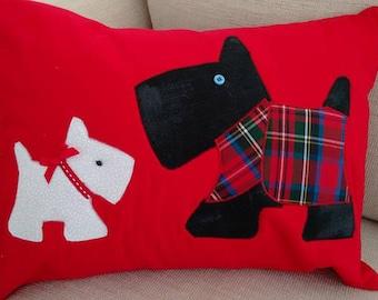 Scottie Dog Cushion