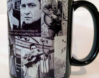 Johnny Cash Tribute Mug