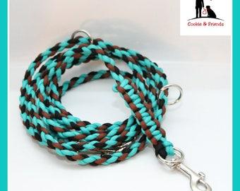 "Dog leash ""dream Turquoise"""