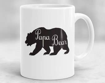 Papa Bear Mug, Bear Mug, Fathers Day Gifts, Dad Mug, Gifts for Dad, Mugs for Grandpa, Papa Bear Cup P60