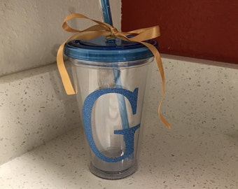 Personalized double walled tumbler