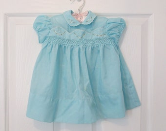 Baby Girl's Blue Dress