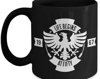 Life begins at 50 - 1967 Coffee Mug