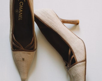 Vintage Chanel Pointed Pumps
