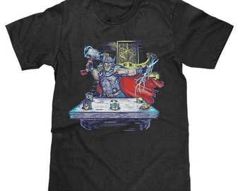 Thor Whack A Minion Shirt Avengers Ironman Hulk Marvel Captain America Superhero Comic Tee (Licensed) Available in Adult & Youth Sizes