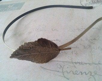 Bronze headband ~ Batt ~.