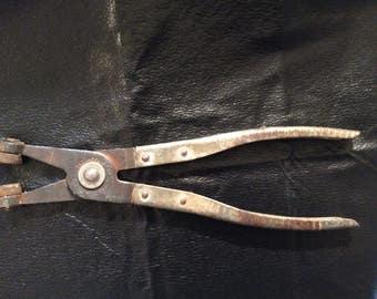 Vintage Mechanics Wire Hose Clamp Pliers #429 K-D MFG. CO.