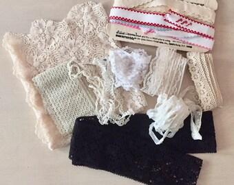 Vintage Lace Lot