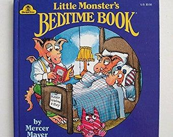 Little Monster's Bedtime Book by Mercer Mayer - Merrigold Press Hardcover 1991 - Children's Book